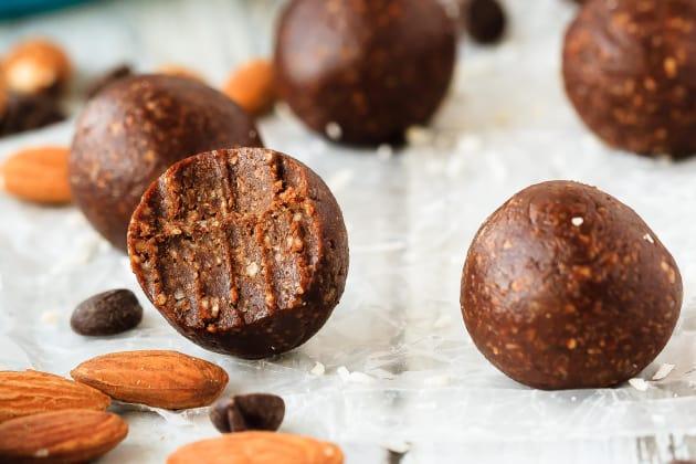 Almond Joy Energy Balls Photo