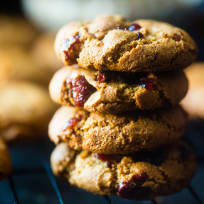 Paleo Cranberry Almond Cookies Recipe