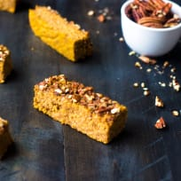 Pumpkin Protein Bars Recipe