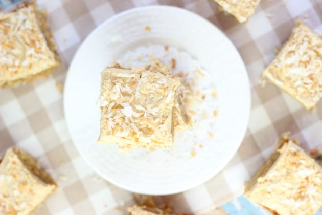 Peanut Butter Coconut Blondies Photo