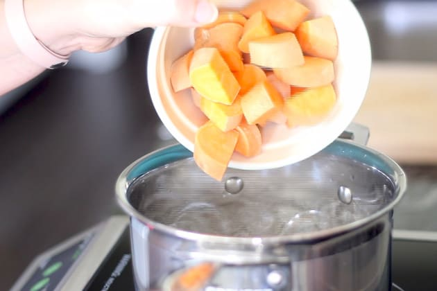 Parboiled Sweet Potatoes Photo