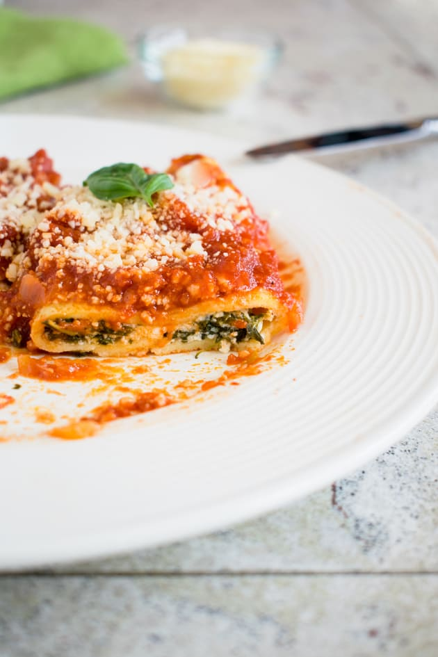Homemade Manicotti Picture