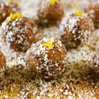 Orange Cardamom Bites Recipe