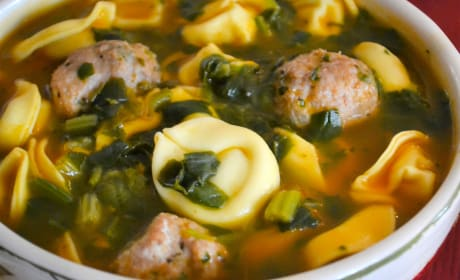 Meatball Tortellini Soup Pic