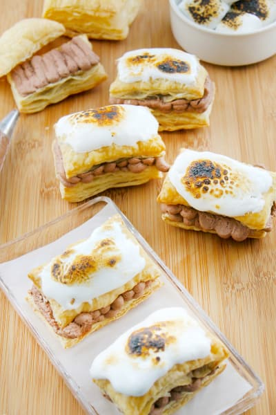 Toasted Marshmallow Napoleons Picture