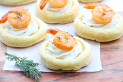 Spicy Shrimp Cream Cheese Tartlets Recipe