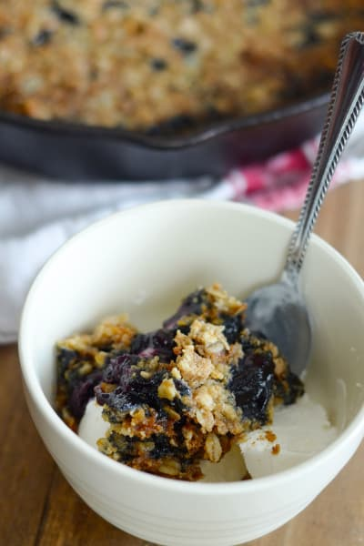 File 2 Gluten Free Blueberry Crisp