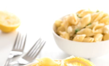 Lemon Pasta Salad Image