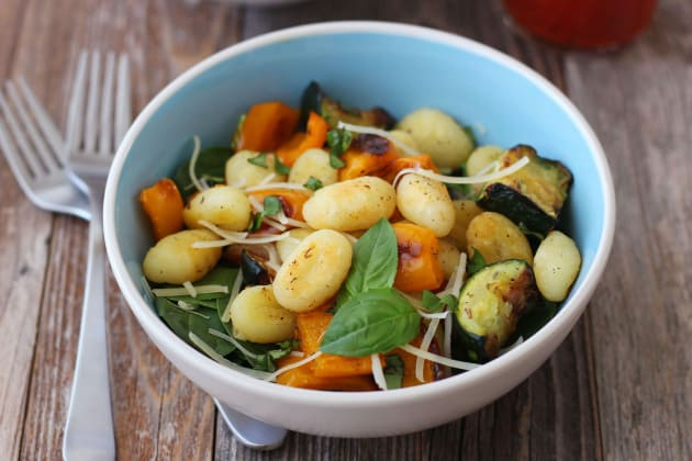 One Pan Roasted Gnocchi and Vegetables Photo