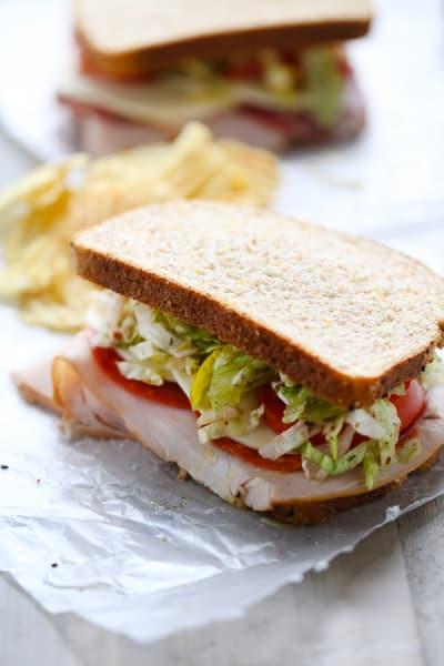 Italian Club Sandwich Picture