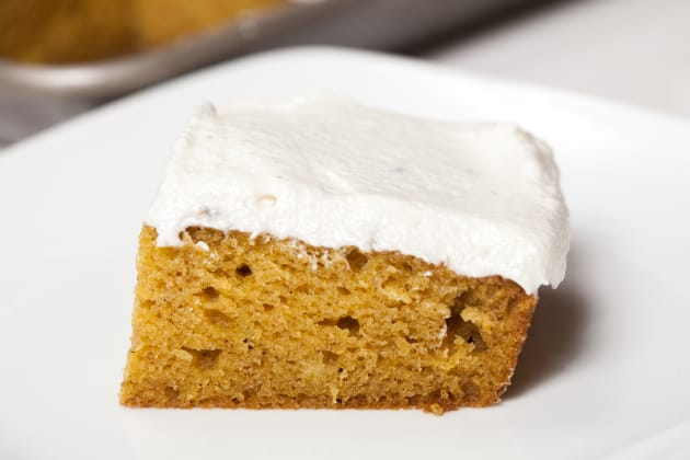 Pumpkin Sheet Cake Photo
