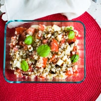 Cauliflower Rice Caprese Recipe