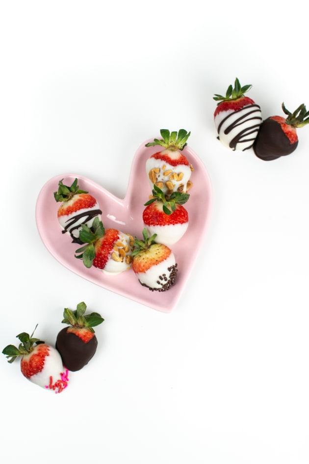 Chocolate Covered Strawberries Pic