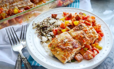 Baked Cajun Mahi-Mahi Dinner Recipe