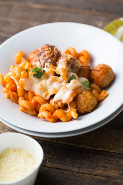 Skillet Meatball Lasagna Picture