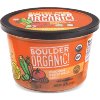 Boulder Organic Chicken Vegetable Chili