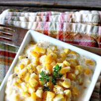 Best Ever Slow Cooker Creamed Corn