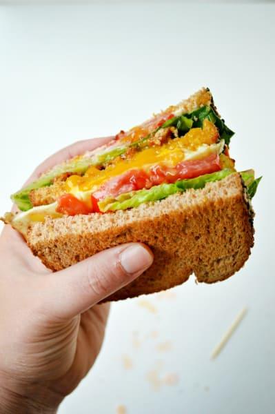 Breakfast BLT Sandwich Pic