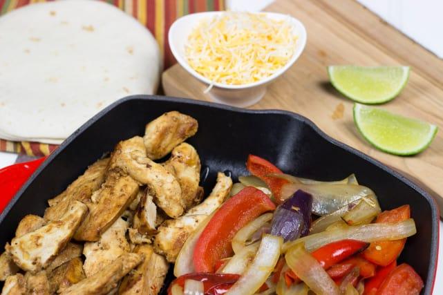 Homemade Chili's Chicken Fajitas Recipe