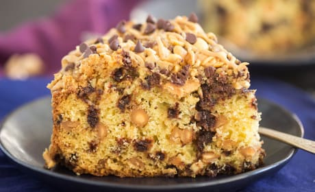 Chocolate Peanut Butter Coffee Cake Recipe