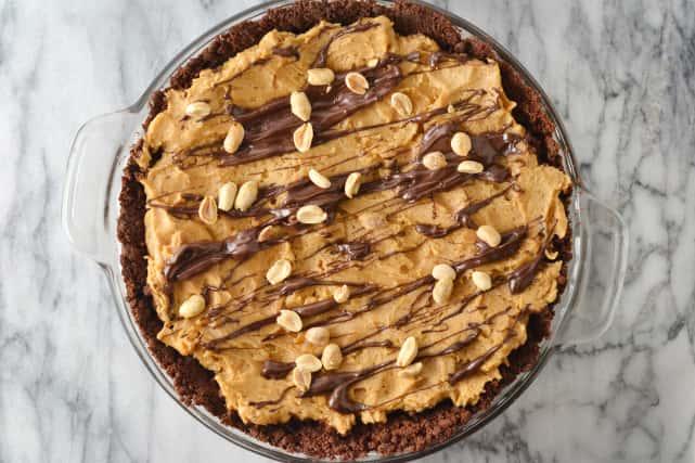 Spicy Chocolate Peanut Butter Pie Recipe