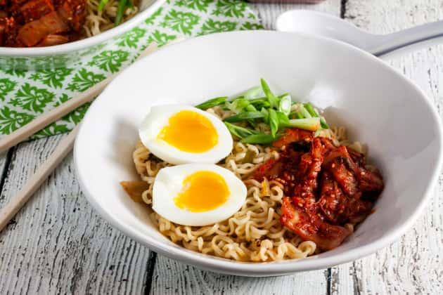 Kimchi Ramen Photo