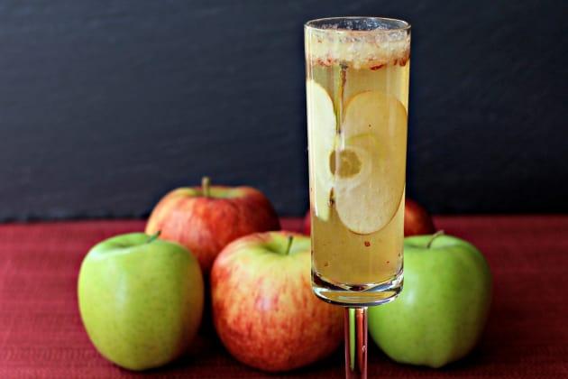 Apple Bourbon Bellini Photo