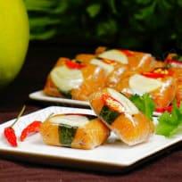 Vegan Fermented/Cured Pomelo Peel with Papaya (Nem Chua Chay)