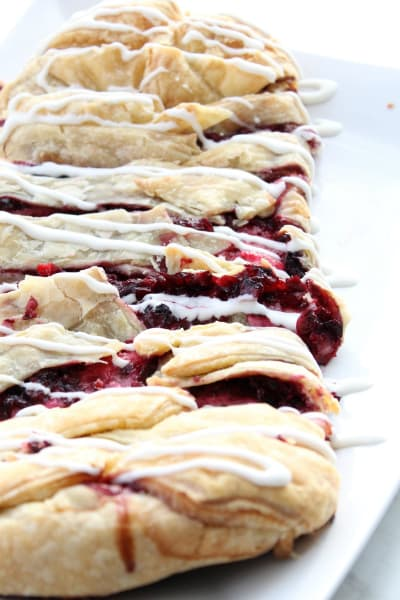 Cherry Cream Cheese Danish Braid Picture