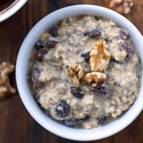 Gluten Free Oatmeal Raisin Overnight Oats Recipe