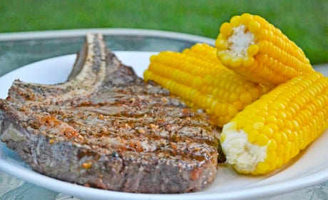 Perfect Grilled Ribeye Photo