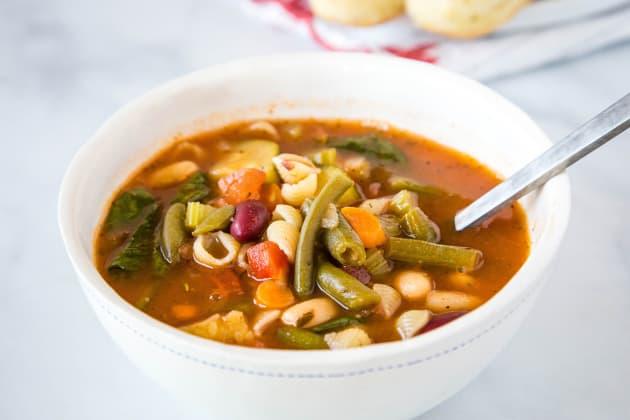 Olive Garden Minestrone Soup Photo