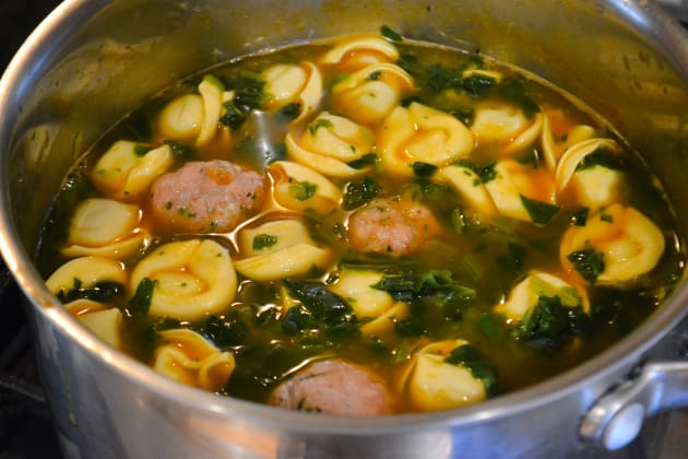Meatball Tortellini Soup Image