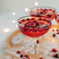 Cranberry Gimlet Recipe