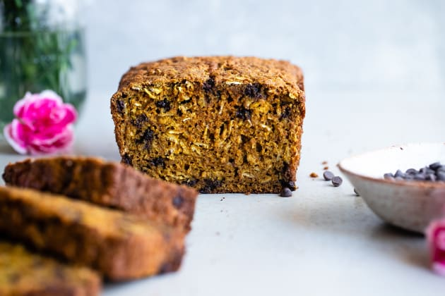 Gluten Free Turmeric Chocolate Chip Bread Photo
