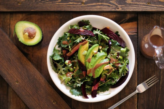 Roasted Beet & Avocado Salad Image