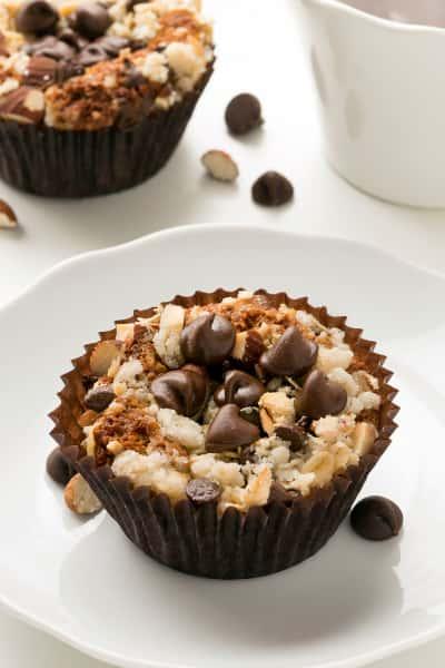 Gluten Free Chocolate Almond Muffins Picture