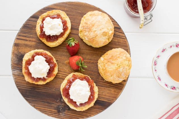 Classic English Scones Photo