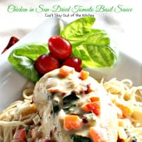Chicken in Sun-Dried Tomato Basil Sauce