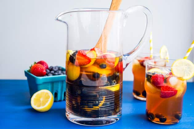 Red Rooibos Tea Sangria Photo