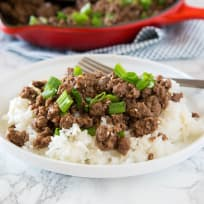 Ground Mongolian Beef Recipe