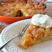 Easy Peach Cobbler Recipe