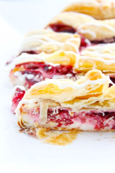 Cherry Cream Cheese Danish Braid Image