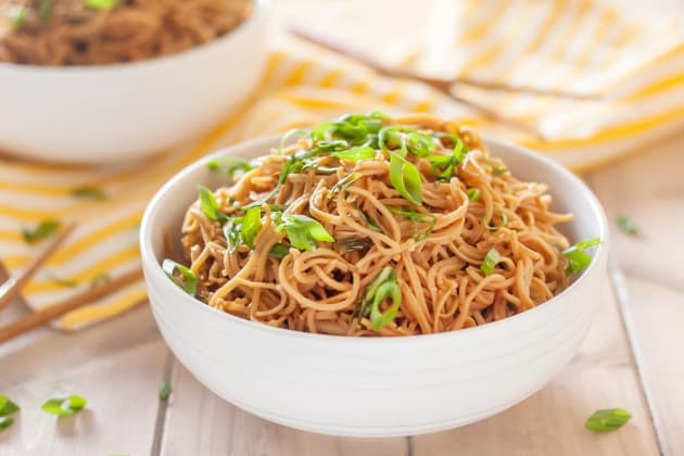 Gluten Free Sticky Garlic Noodles Image