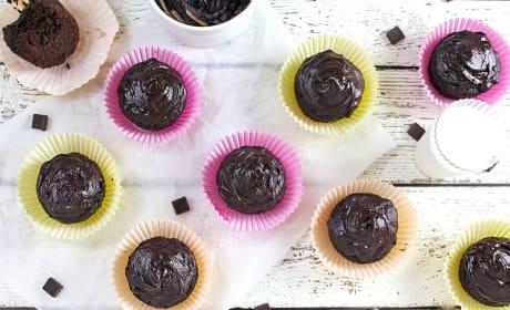 Chocolate Avocado Cupcakes Recipe