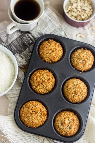 Coconut Almond Muffins Image