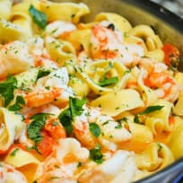 Shrimp Scampi Tortellini Recipe