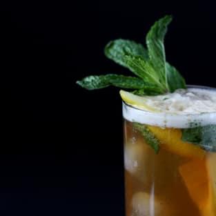 Bourbon mint tea photo