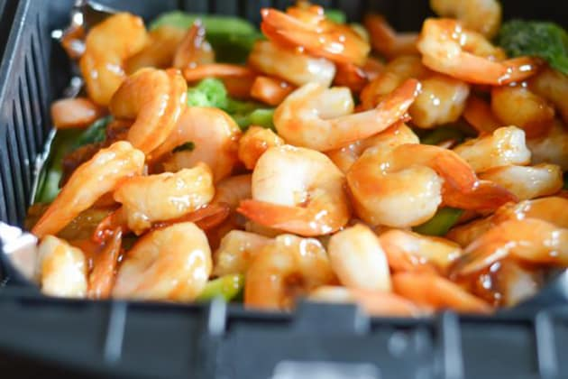 Gluten Free Air Fryer Honey Garlic Shrimp Pic