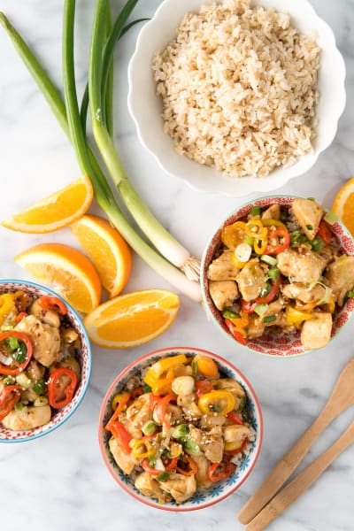 Spicy Ginger Chicken Stir Fry Image